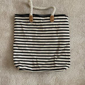 Summer & Rose stripped tote bag